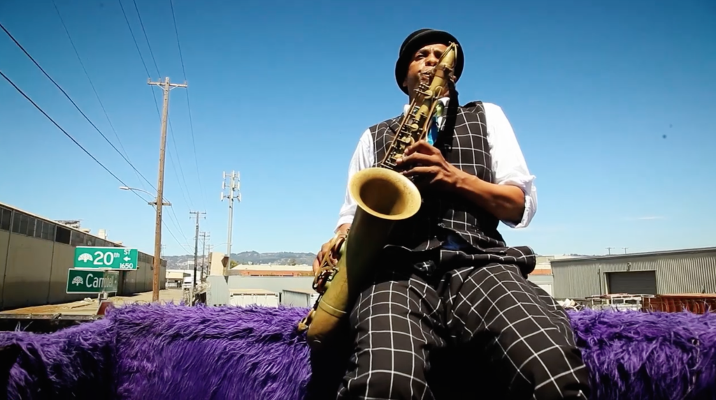 """Angelo Moore and the Brand New Step - """"Karma Cash Back"""" Music Video, 2015"""